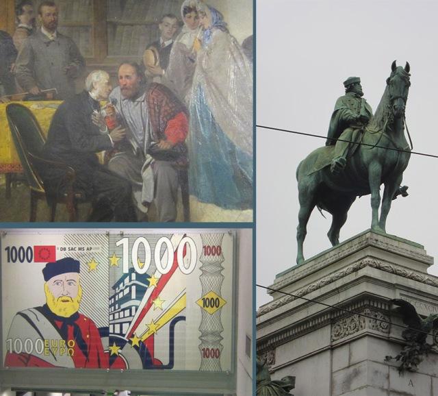 Post Garibaldi e Manzoni
